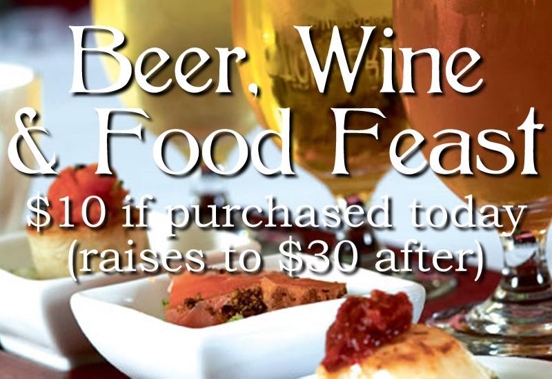 Beer, Wine, Food, & Live Music