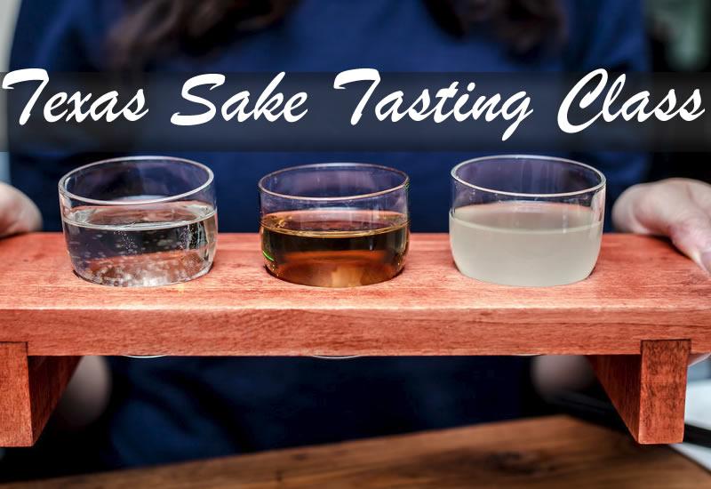 June 24th - Austin - Sake Tasting Class - $15
